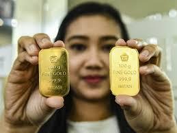 Harga Emas Antam Hari Ini Terpantau Stagnan