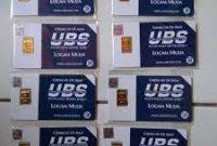 Harga Emas Batangan UBS 9 Juni